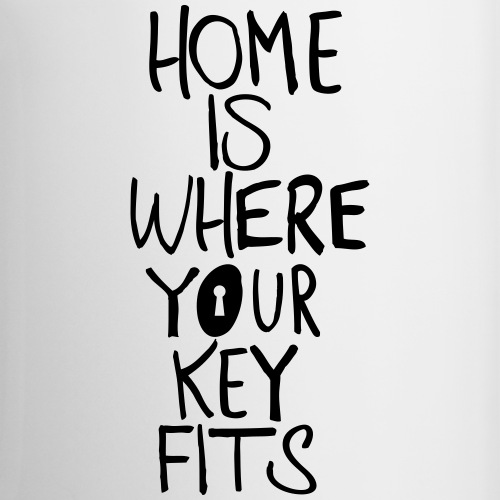 Home is where your key fits - Tasse