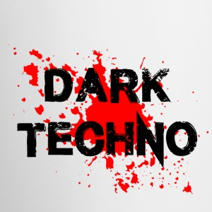 Dark Techno with blood spatter - Mug