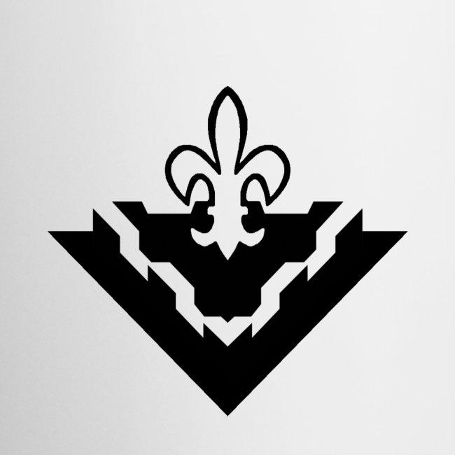 sms logo mustavalkoinen