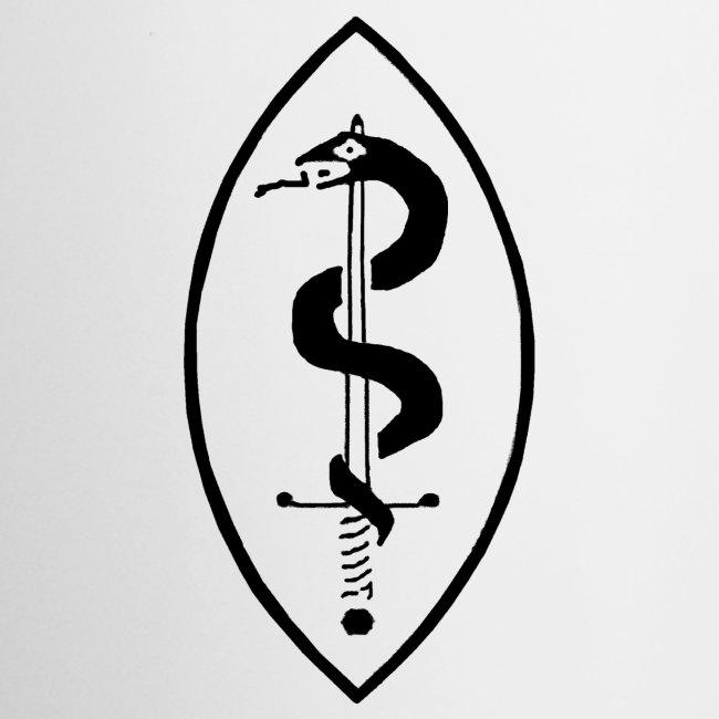 School of Mars Crest (Black)