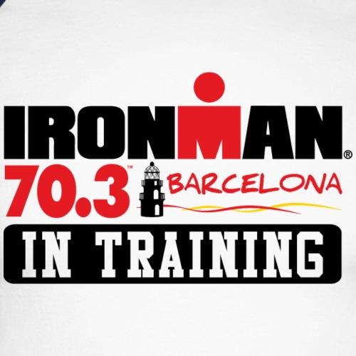 it 703 barcelona - Men's Long Sleeve Baseball T-Shirt