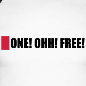 ONE! OHH! FREE! - Men's Long Sleeve Baseball T-Shirt