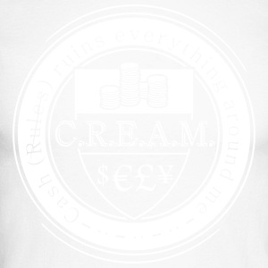 CREAM - Men's Long Sleeve Baseball T-Shirt