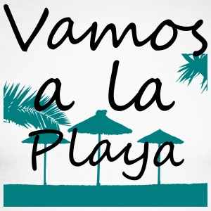 Vamos a la playa - Men's Long Sleeve Baseball T-Shirt