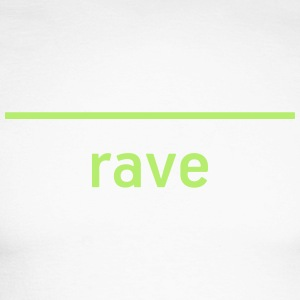 RAVE - Live Techno! - Langermet baseball-skjorte for menn