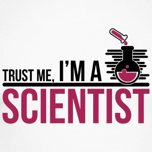 Trust Me I'm A Scientist - science - Men's Long Sleeve Baseball T-Shirt