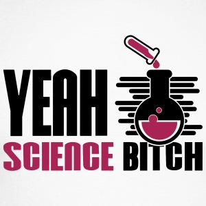Yeah Science Bitch Chemistry - Men's Long Sleeve Baseball T-Shirt