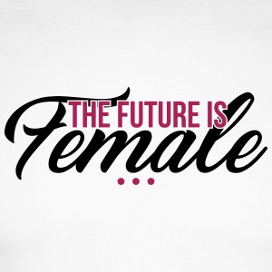 The Future is Female - muttertag - Men's Long Sleeve Baseball T-Shirt