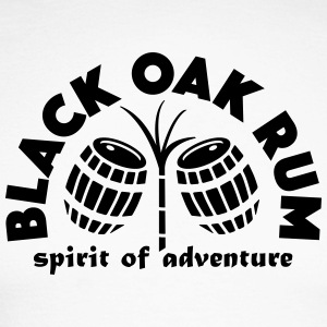 Black Oak Rum - Langermet baseball-skjorte for menn