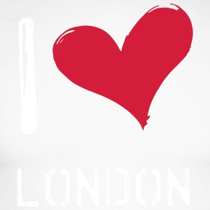 I love London - T-shirt baseball manches longues Homme