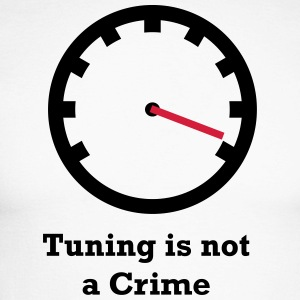 Tuning is not a Crime - Men's Long Sleeve Baseball T-Shirt