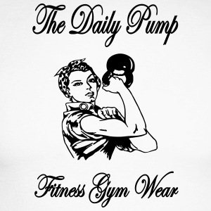 The Daily Pump - Mannen baseballshirt lange mouw