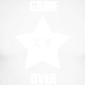 Game Over - Mario Star - Männer Baseballshirt langarm