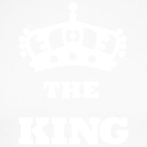 THE_KING - Langermet baseball-skjorte for menn