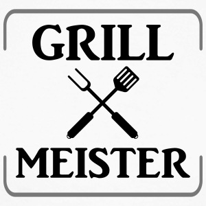 Grill Master - Men's Long Sleeve Baseball T-Shirt