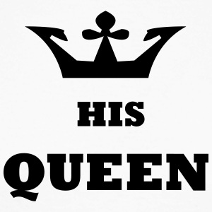 His_Queen King and Queen - Men's Long Sleeve Baseball T-Shirt
