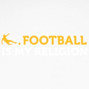 Citations du football: le football est ma religion - T-shirt baseball manches longues Homme