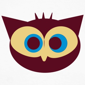 fou Owl - T-shirt baseball manches longues Homme
