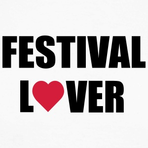 Festival Lovers - Langermet baseball-skjorte for menn