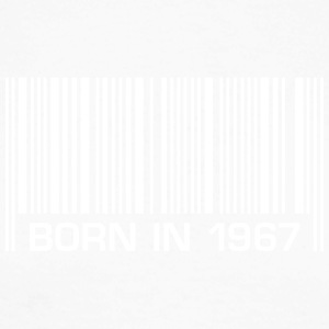 born in 1967 50th birthday 50th birthday barcode - Men's Long Sleeve Baseball T-Shirt
