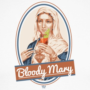 Bloody Mary et des boissons - T-shirt baseball manches longues Homme