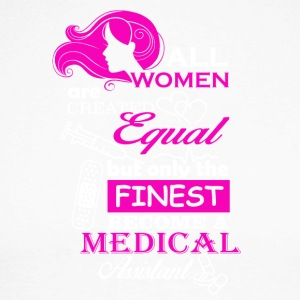 All women are Medical Assistant - Men's Long Sleeve Baseball T-Shirt