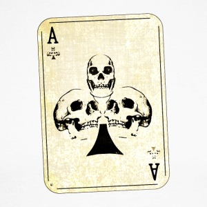 Ace of Skulls - T-shirt baseball manches longues Homme