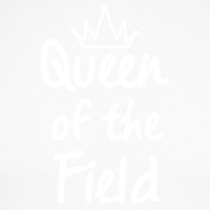 Queen of the field - Men's Long Sleeve Baseball T-Shirt