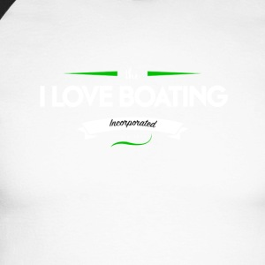 boating_logo_3 - Men's Long Sleeve Baseball T-Shirt