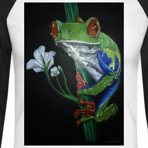 frog frog - Men's Long Sleeve Baseball T-Shirt