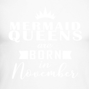 Mermaid Queens november - Mannen baseballshirt lange mouw