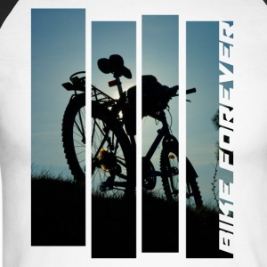 bicycle bike MTB photo tour abendlicht tour - Men's Long Sleeve Baseball T-Shirt