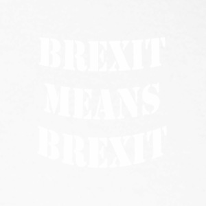Brexit signifie BREXIT - T-shirt baseball manches longues Homme