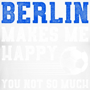 Berlin me rend heureux - T-shirt baseball manches longues Homme
