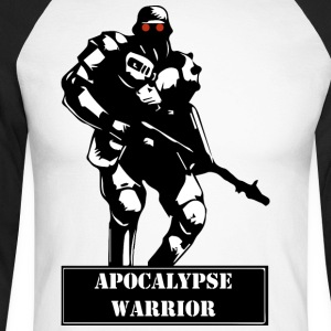 Apocalypse Warrior - T-shirt baseball manches longues Homme