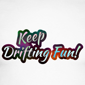 Keep Drifting Fun Magic Color - Männer Baseballshirt langarm