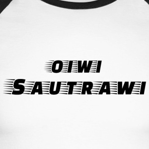 oiwi_sautrawi - T-shirt baseball manches longues Homme
