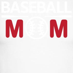 baseball Mom - Langermet baseball-skjorte for menn