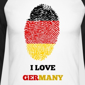 J'AIME ALLEMAGNE - T-shirt baseball manches longues Homme