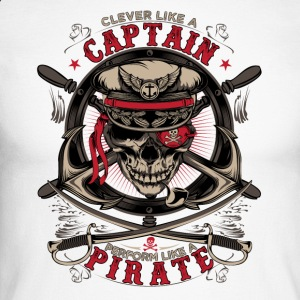 captain pirate - Men's Long Sleeve Baseball T-Shirt