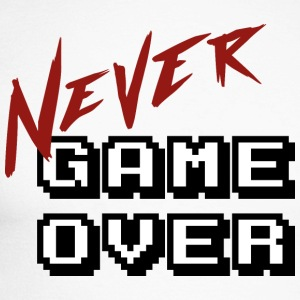 Big_Never_game_Over_white - T-shirt baseball manches longues Homme