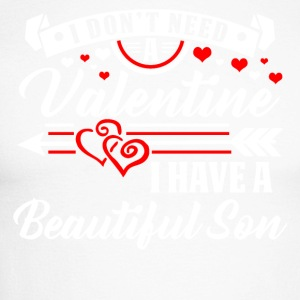 Valentine's Day - Son T-shirt and hoodie - Men's Long Sleeve Baseball T-Shirt