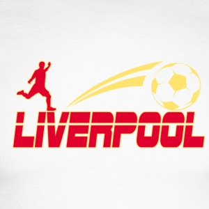 Liverpool Soccer - Men's Long Sleeve Baseball T-Shirt