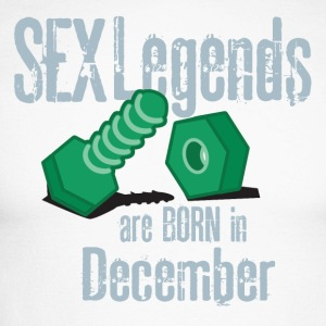 Bursdag desember penis Sex Legends - Langermet baseball-skjorte for menn
