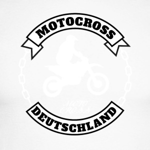 motocross Allemagne - T-shirt baseball manches longues Homme