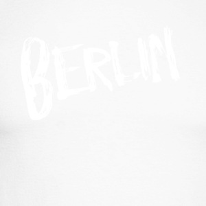 Berlin font - Men's Long Sleeve Baseball T-Shirt