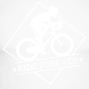 Ride Forever - Men's Long Sleeve Baseball T-Shirt