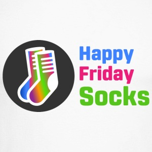 Happy Friday Socks - Maglia da baseball a manica lunga da uomo
