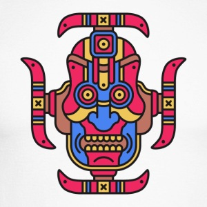 Totem tribal - T-shirt baseball manches longues Homme