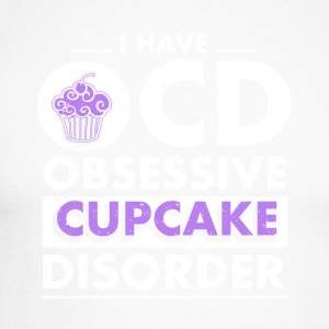 Cupcake disorder - Men's Long Sleeve Baseball T-Shirt